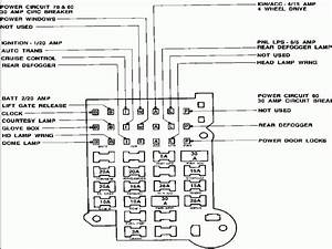 1988 Chevy Truck Fuse Diagram