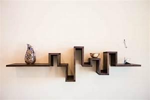 étagères Murales Design : etagere murale bois design id es de d coration int rieure french decor ~ Teatrodelosmanantiales.com Idées de Décoration