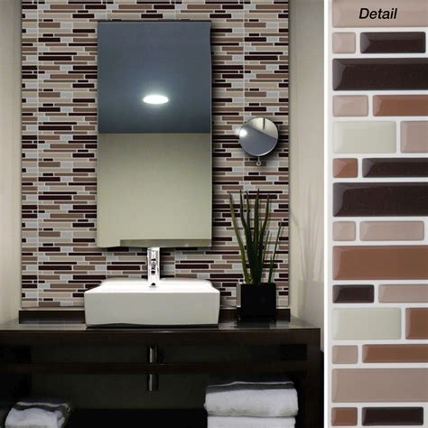 Easy Kitchen Backsplash Kits by Kitchen Your Kitchen Look Awesome By Using Peel And Stick