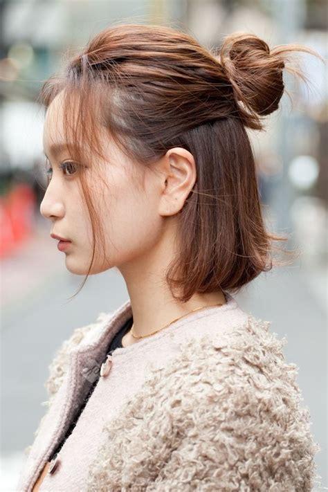 short hairstyle japan hair styles korean short hair