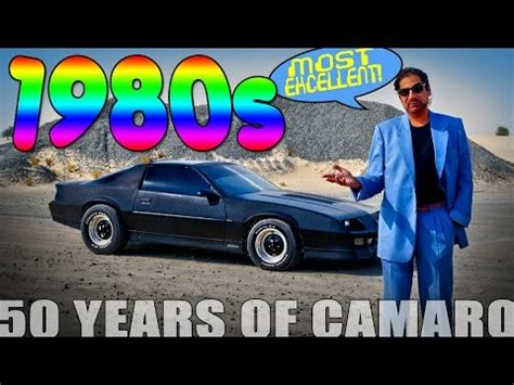 50 Years Of Camaro  1980s, Most Excellent! New Video