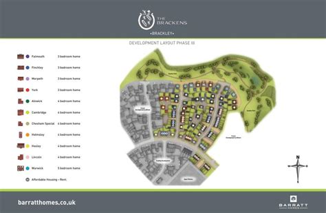 The Brackens New Homes Development By Barratt Homes