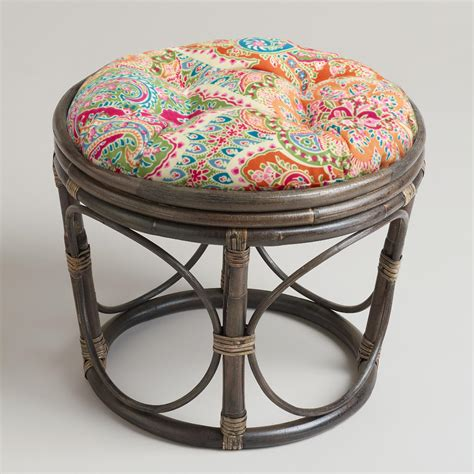 Papasan Chair World Market by Venice Papasan Stool Cushion World Market