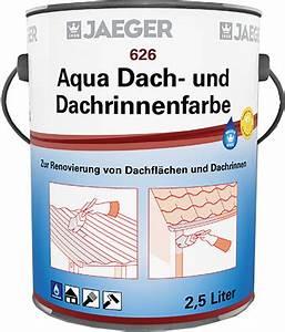Jäger Aqua Fliesenlack : jaeger aqua dach und dachrinnenfarbe ~ Watch28wear.com Haus und Dekorationen