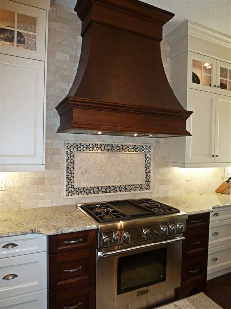 Tile Backsplash Behind Stove Peel And Stick Kitchen Ideas