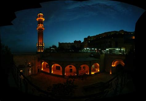 panoramic image mardin  night