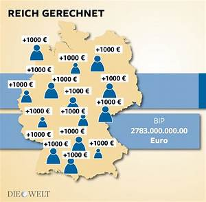 Bip Rechnung : neue bip rechnung deutscher wohlstand steigt um 1000 euro pro kopf welt ~ Themetempest.com Abrechnung