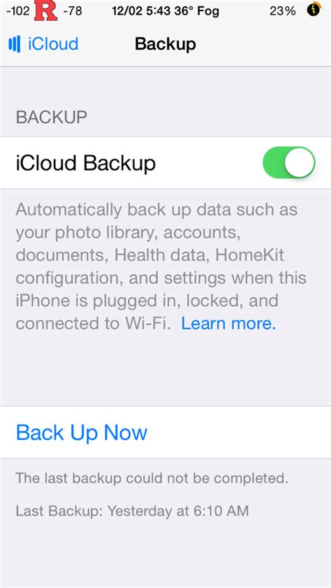 iphone icloud backup could not be completed icloud backup could not be completed everythingicafe forums