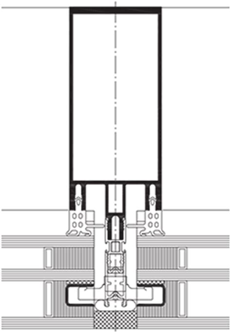 mur rideau lisse structure aluminium wicona france