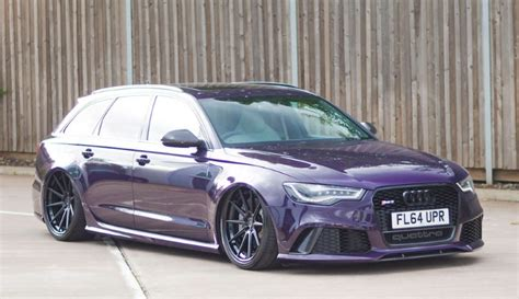 slammed audi slammed audi rs6 with adv1 wheels dpccars