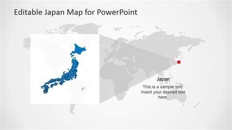 japan map template  powerpoint slidemodel