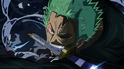 wallpaper roronoa zoro  piece sword amanomoon