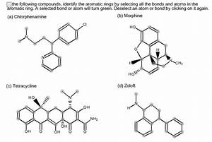 In The Following Compounds  Identify The Aromatic