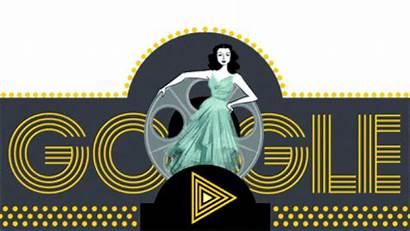 Google Hedy Doodle Lamarr Doodles Birthday Today