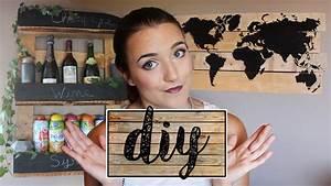 Carte Du Monde En Bois : diy carte du monde pr sentoirs avec palette en bois youtube ~ Teatrodelosmanantiales.com Idées de Décoration