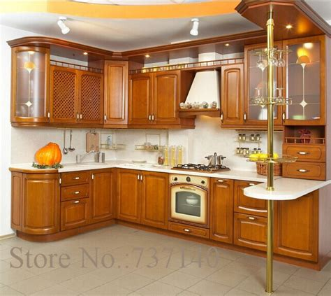 aliexpress com buy solid wood kitchen cabinet american