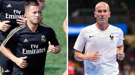 Eden Hazard unwittingly reveals Zinedine Zidane tapped him ...