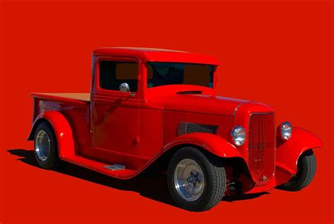 Ford Hot Rod Pickup Truck Photograph Tim Mccullough
