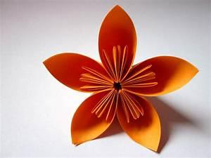 Blumen Aus Papier : blume aus papier basteln ~ Udekor.club Haus und Dekorationen