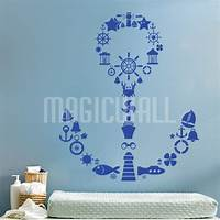 excellent anchor wall decals Excellent Anchor Wall Decals - Patio Design #979