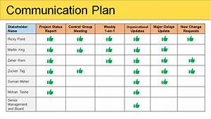 Stakeholder Management Plan Template Free Download
