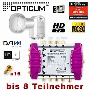 Quattro Lnb Multischalter : sat multischalter 5 8 opticum oms quattro lnb full hdtv ~ Watch28wear.com Haus und Dekorationen