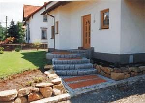 Treppe Hauseingang Bilder : pflastern 2 pflaster granit basalt porphyr sandstein ~ Markanthonyermac.com Haus und Dekorationen