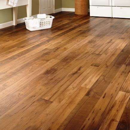 Vinyl sheet flooring Looks like wood   My dream house