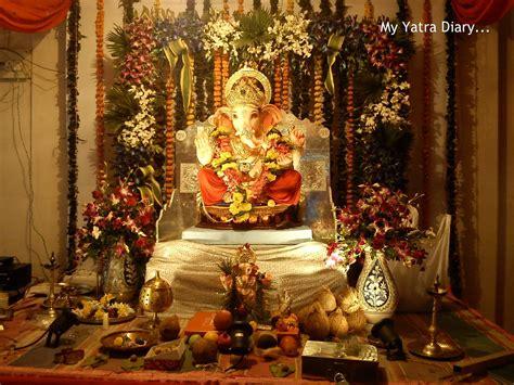 Foto Dekoration Ideen by Bhagwan Ji Help Me Ganpati Decoration Ideas Ganesh