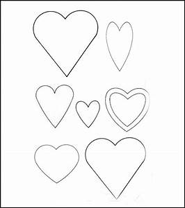 heart template printable heart templates free premium With small heart template to print