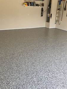 decorative epoxy flake garage floor in cary north With decorative flakes for garage floors