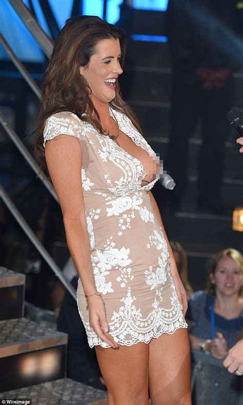 Big Brother 2015's Helen Wood almost suffers a nip slip as ...