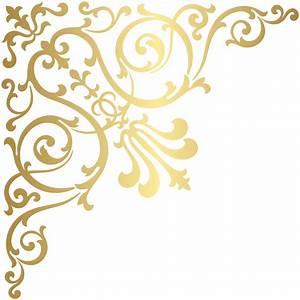 Gold Corner Transparent PNG Clip Art | Gallery ...