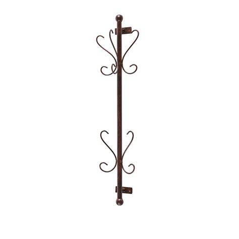 hanging coat rack sei talcott wall mount bronze entryway coat