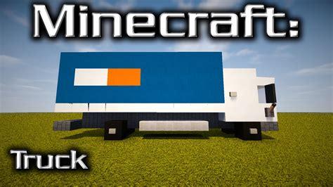 minecraft pickup truck minecraft truck tutorial designed by yazur youtube