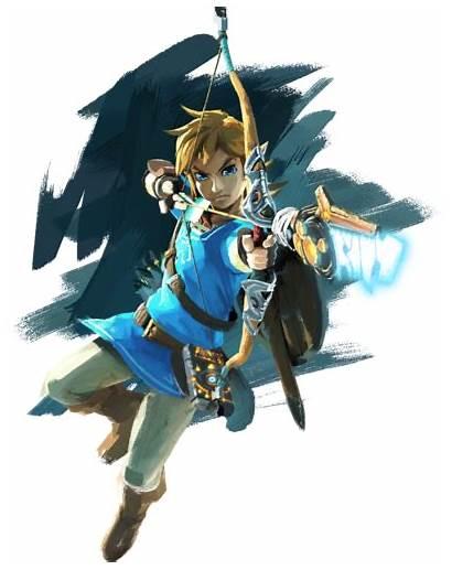 Link Breath Wild Zelda Wiki Dungeon Artwork