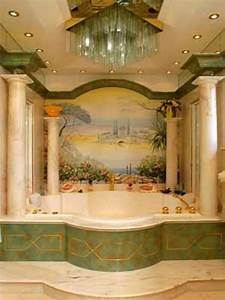 Wall painting ideas bathroom : Latest trends in bathroom design styles interior