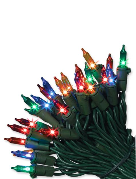 string lights on your christmas tree properly