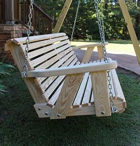 Roll Back Amish Heavy Duty 800 Lb 5ft  Porch Swing