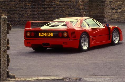 How Much Is A F40 Worth by F40 1987 1992 Review 2017 Autocar