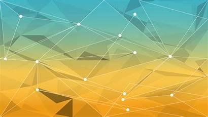 Desktop Geometric Backgrounds Yellow Wallpapers Widescreen Getwallpapers