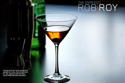 perfect rob roy cocktail recipe