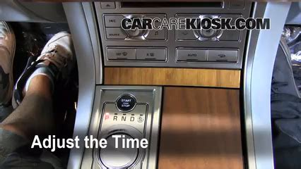 Fuse Box Clock by Interior Fuse Box Location 2009 2015 Jaguar Xf 2009