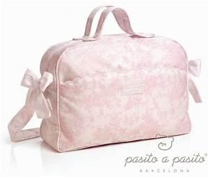Sac A Langer Rose : pasito a pasito sac langer toile de jouy rose ~ Teatrodelosmanantiales.com Idées de Décoration