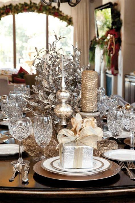 Weihnachts Tisch Deko by La D 233 Coration De Table Pour No 235 L Plaisir Et Style