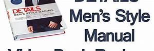 Details Men U2019s Style Manual
