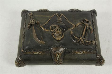 Wood Pirate Treasure Chest Ebay