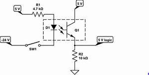 Voltage - 2 State Converter  From -24vdc  On