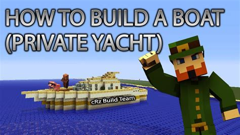 How To Build A Boat In Minecraft Easy by Minecraft Xbox 360 How To Build A Boat Yacht