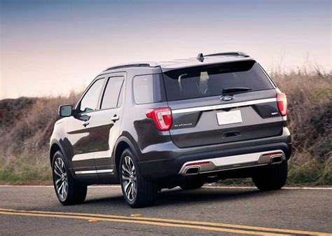 2019 ford explorer redesign - Release date Cars